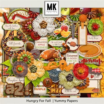 Hungry For Fall - Page Kit