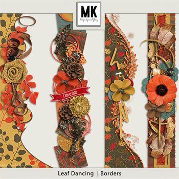 Leaf Dancing - Borders