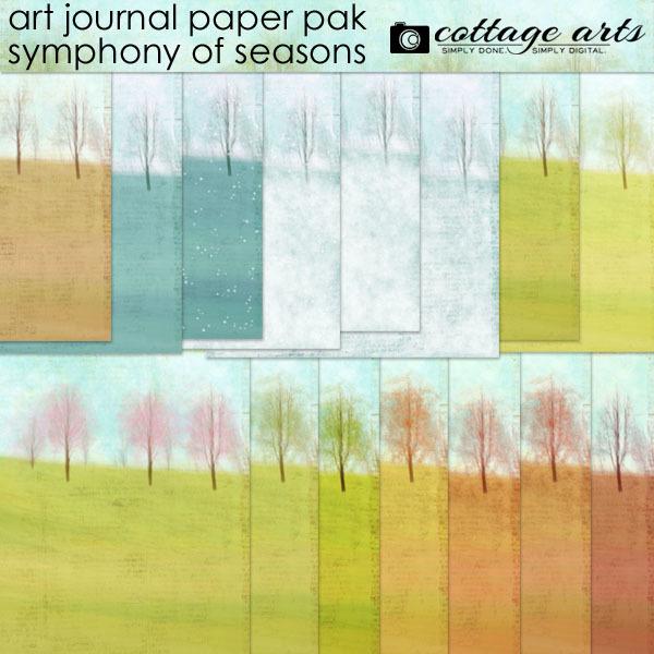 Art Journal – Symphony of Seasons Paper Pak