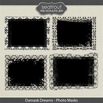 Damask Dreams Photo Masks