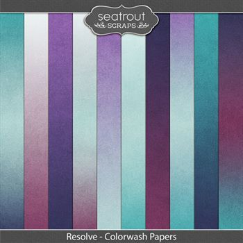 Resolve Colorwash Papers