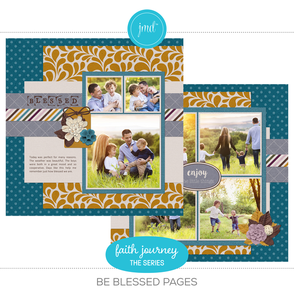 Faith Journey Series - Be Blessed Pages