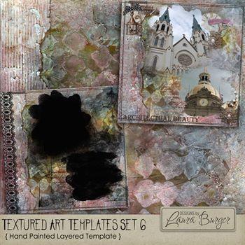 Textured Art Template Set 6