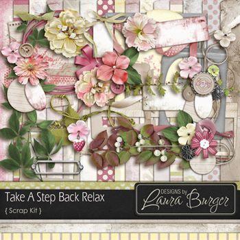 Take A Step Back Relax Scrap Kit