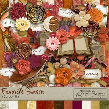 Favorite Season Scrap Kit - Exclusive To Forever