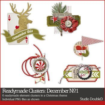 Readymade Clusters December No. 01