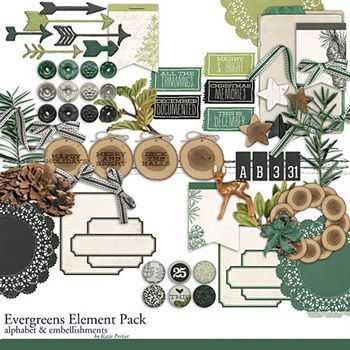 Evergreens Element Pack