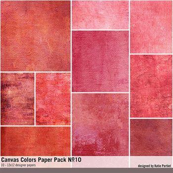 Canvas Colors Paper Pack No. 10