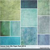 Canvas Color Mix Paper Pack No. 10