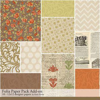Folia Add-on Paper Pack