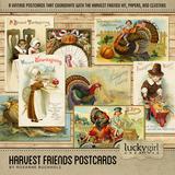 Harvest Friends Postcards