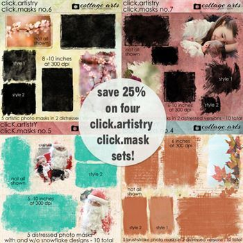 Click.artistry Click.masks Collection 8