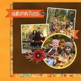 Hoo Loves Fall Pre-designed Book