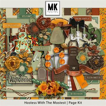 Hostess With The Mostest - Page Kit