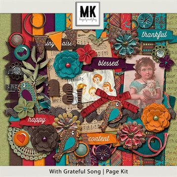With Grateful Song - Page Kit