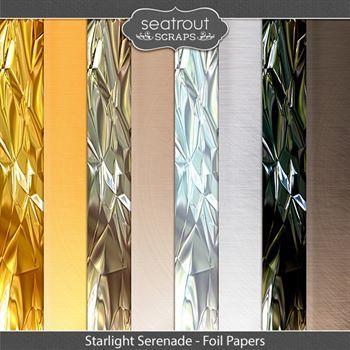Starlight Serenade Foil Papers
