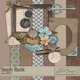 Simply Rustic Scrap Kit- Mini