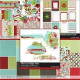 Merry And Bright Scrapbooking Collection
