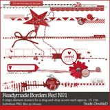 Readymade Borders Red No. 01