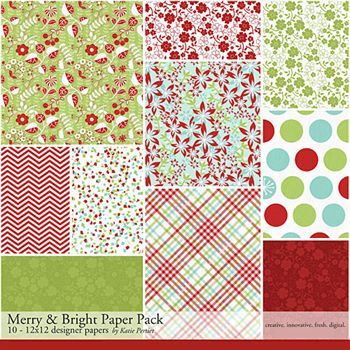 Merry And Bright Paper Pack