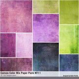 Canvas Color Mix Paper Pack No. 11