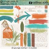 Grunge Paints 3 Stamps