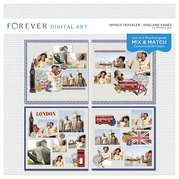 World Traveler - England Pages