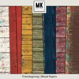 Friendsgiving - Wood Papers