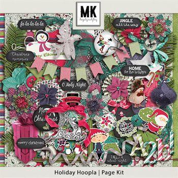 Holiday Hoopla - Page Kit