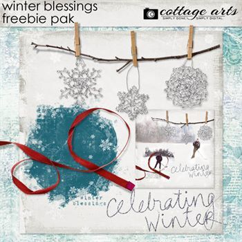 Winter Blessings Freebie Pak