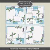 November Novelties Template Set 1