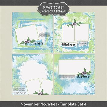 November Novelties Template Set 4