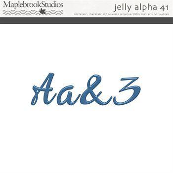 Jelly Alphabet No. 41