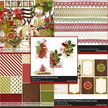 Joyeux Noel Scrapbook Collection