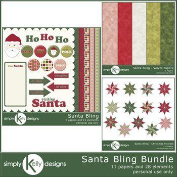 Santa Bling Bundle