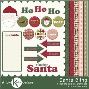 Santa Bling Kit