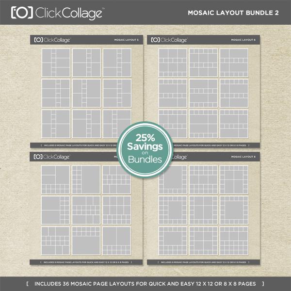 Mosaic Layout Bundle 2