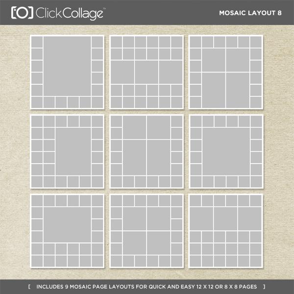 Mosaic Layout 8