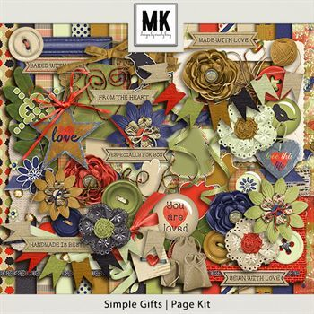 Simple Gifts - Page Kit