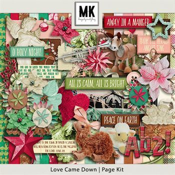 Love Came Down - Page Kit