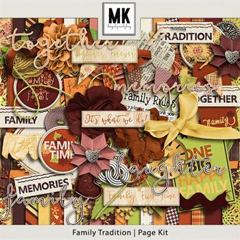 Family Tradition - Page Kit