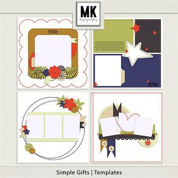 Simple Gifts - Templates