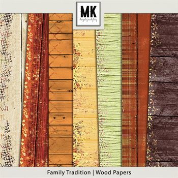 Family Tradition - Wood Papers