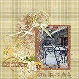 Winter Jasmine Burlap Papers