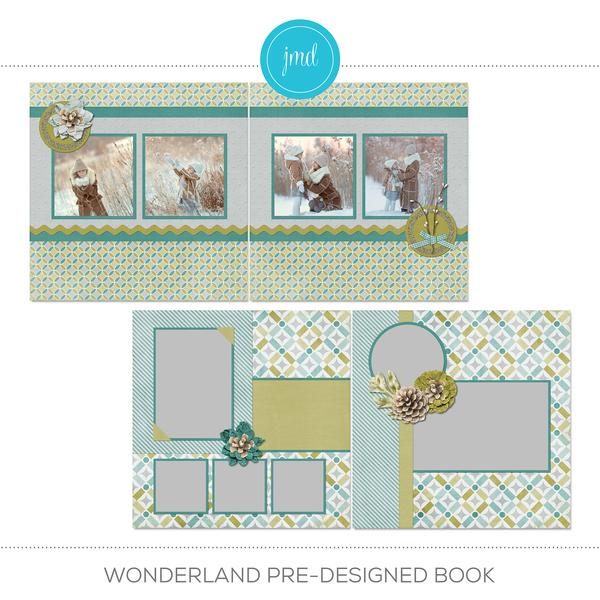 Wonderland Pre-designed Book