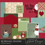 My Memories December Pocket Pieces