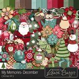 My Memories December Scrap Kit