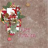 My Memories December Textural Papers