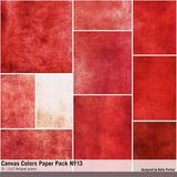 Canvas Colors Paper Pack No. 13