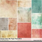 Canvas Color Mix Paper Pack No. 13